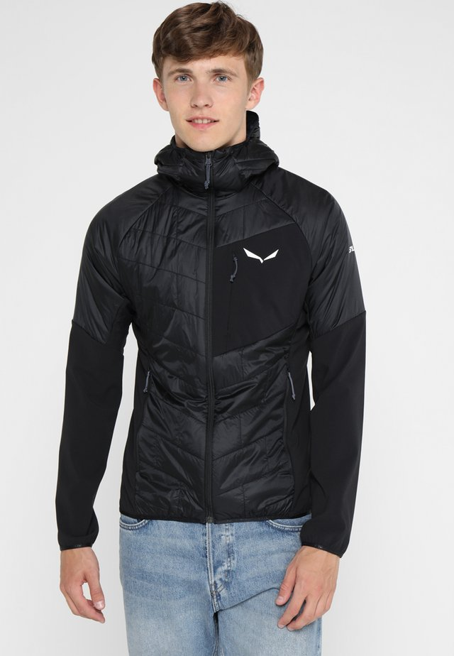 ORTLES HYBRID - Outdoorjacke - black out