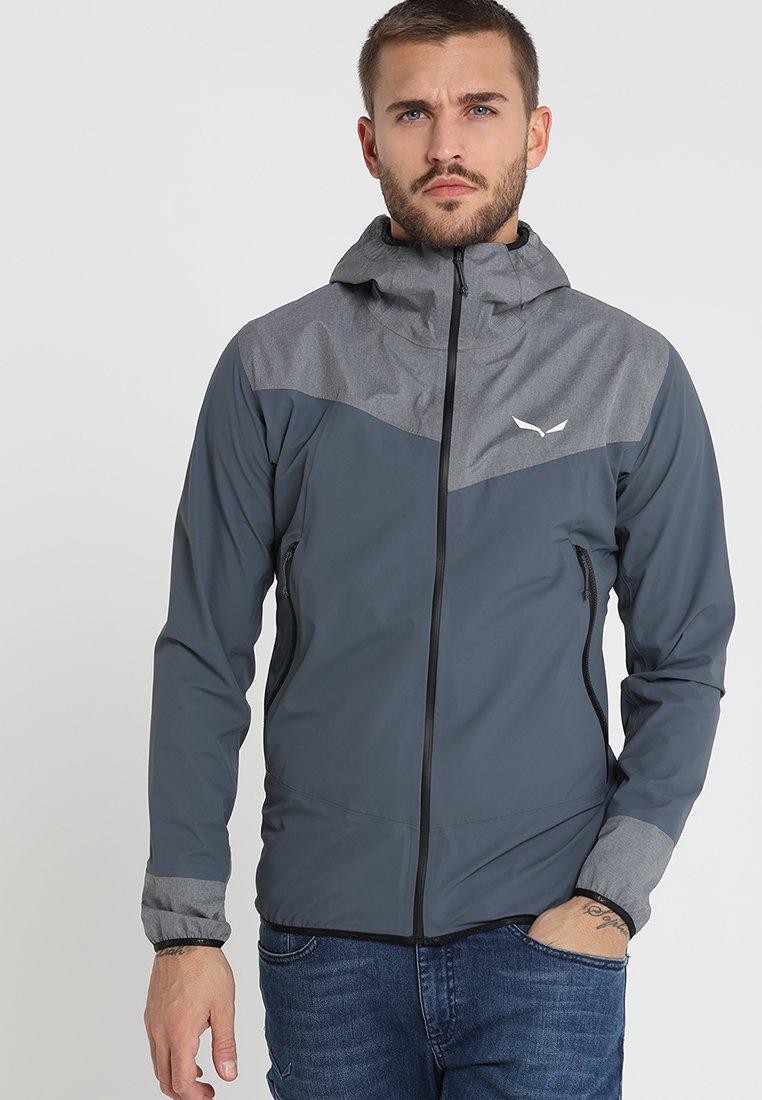 Salewa - AGNER - Hardshell jacket - black out
