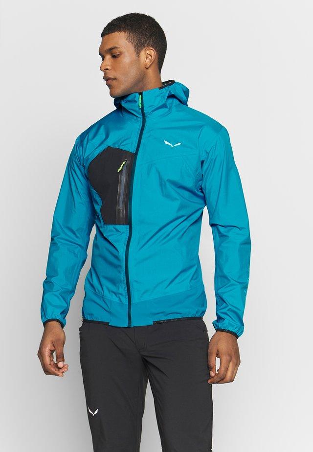 PEDROC HYBRID - Hardshell jacket - blue danube