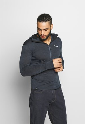 PUEZ ACTIVE  - Fleece trui - dark grey