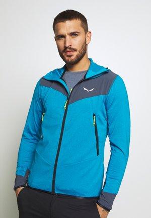 AGNER HYBRID - Outdoor jacket - blue danube/melange