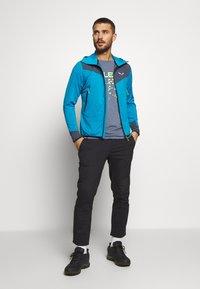 Salewa - AGNER HYBRID - Outdoorová bunda - blue danube/melange - 1