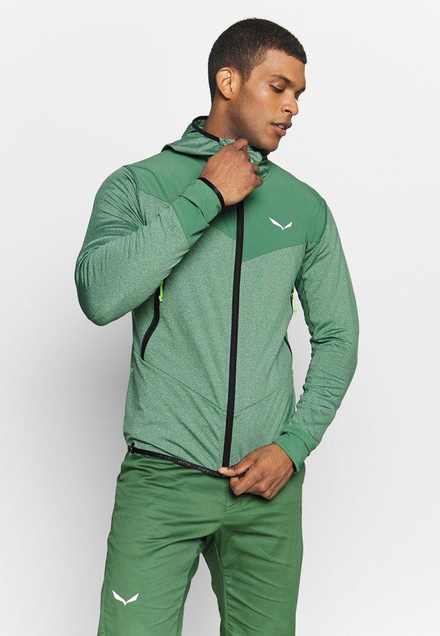 AGNER HYBRID - Outdoor jacket - feldspar green