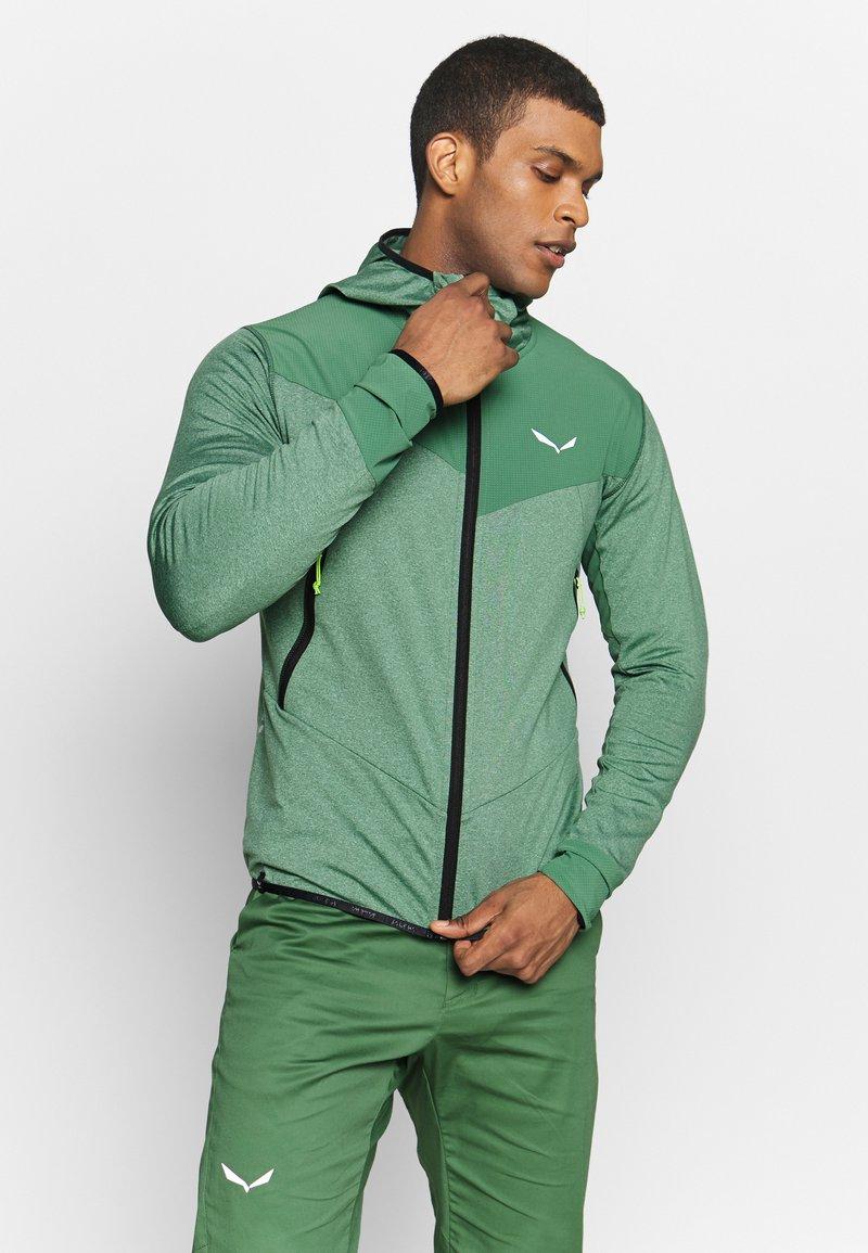 Salewa - AGNER HYBRID - Outdoorová bunda - feldspar green
