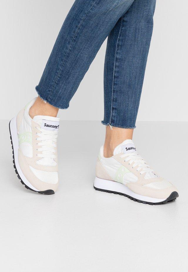 JAZZ VINTAGE - Sneakersy niskie - white/seafoam
