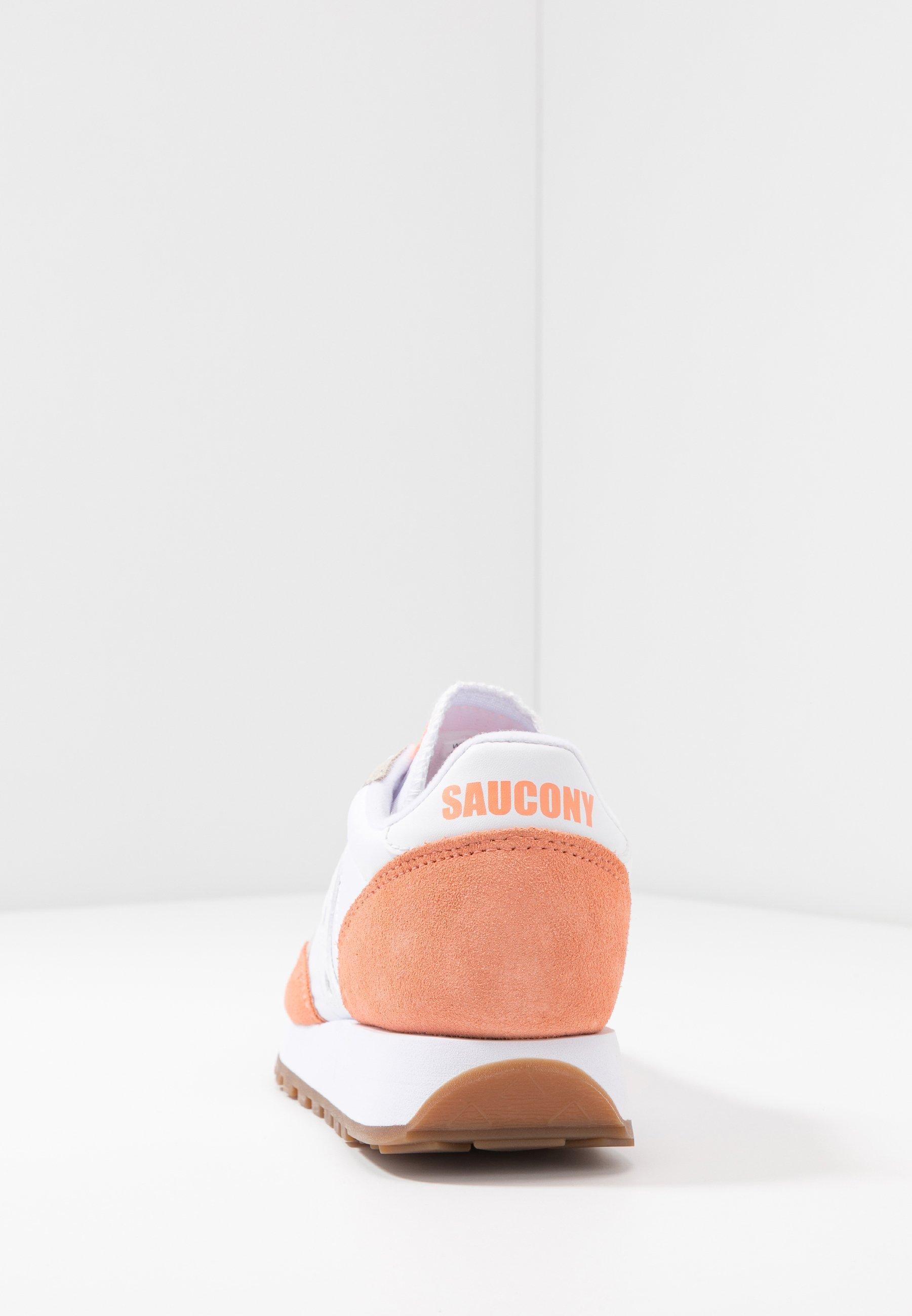 Saucony Jazz Vintage - Baskets Basses White/cantaloupe