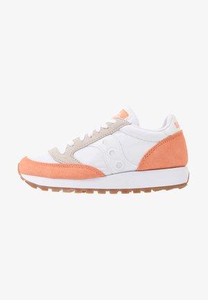 JAZZ VINTAGE - Sneakersy niskie - white/cantaloupe