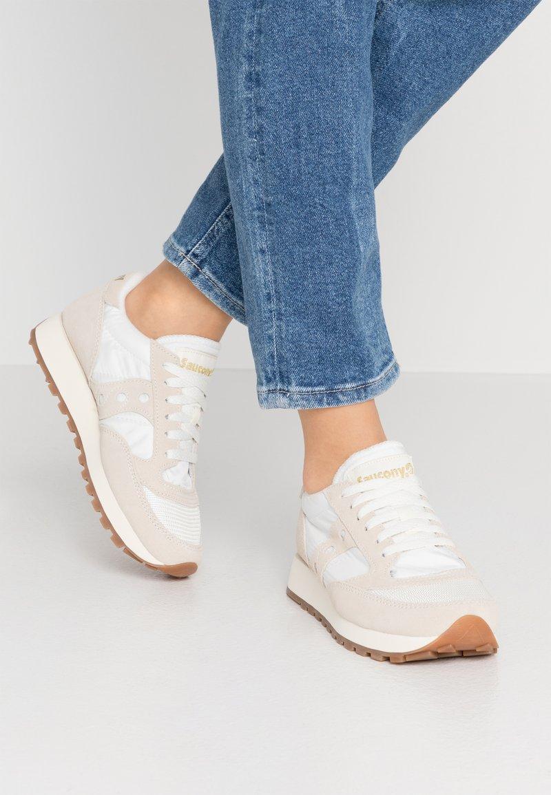 Saucony - JAZZ VINTAGE - Sneakers basse - marshmallow