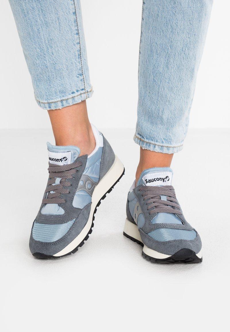 Saucony - JAZZ ORIGINAL VINTAGE - Sneakers basse - grey/blue/white