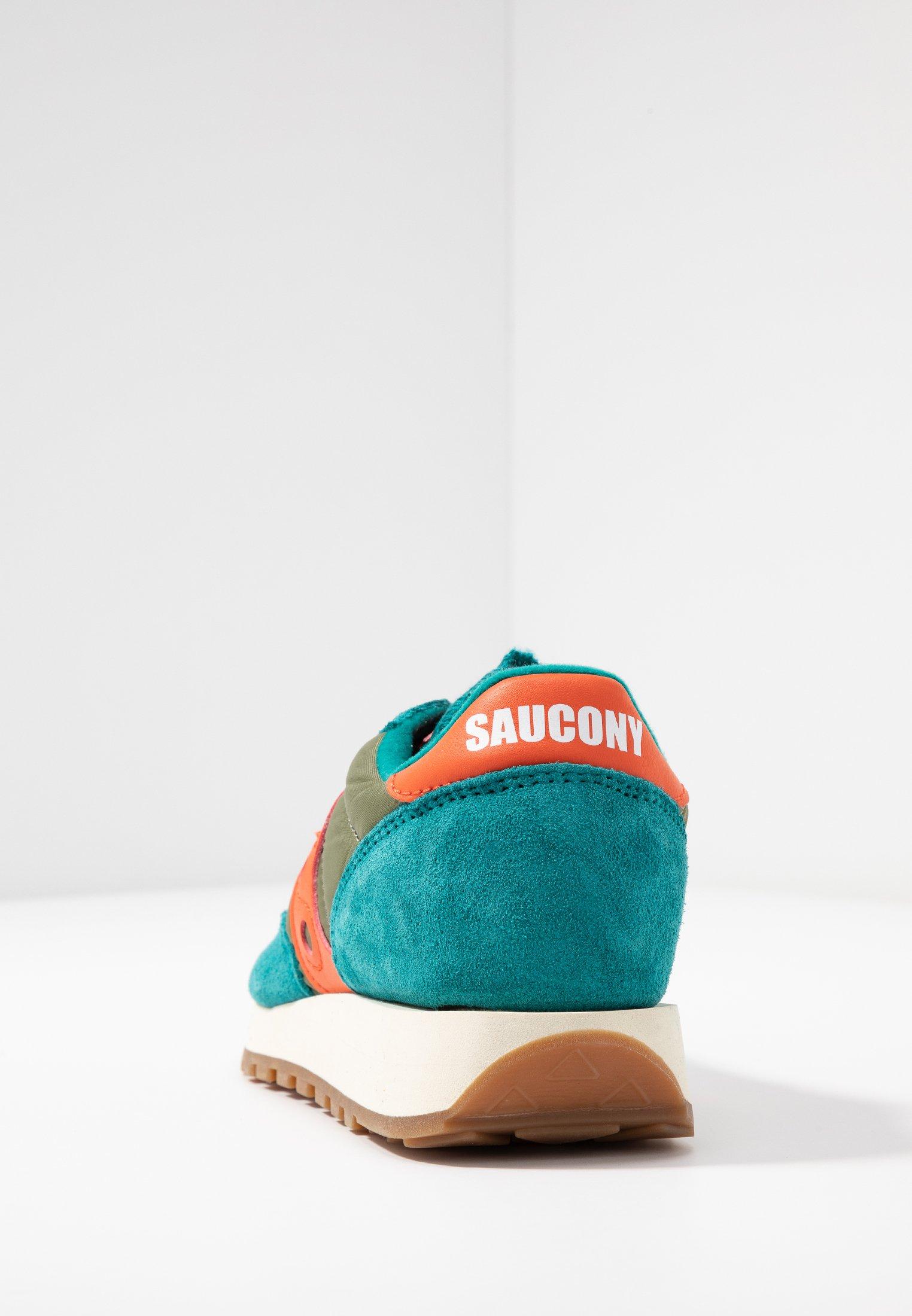 Saucony Jazz Vintage - Sneakers Laag Teal/olive/pink RogjPah