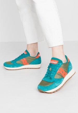 JAZZ VINTAGE - Sneaker low - teal/olive/pink