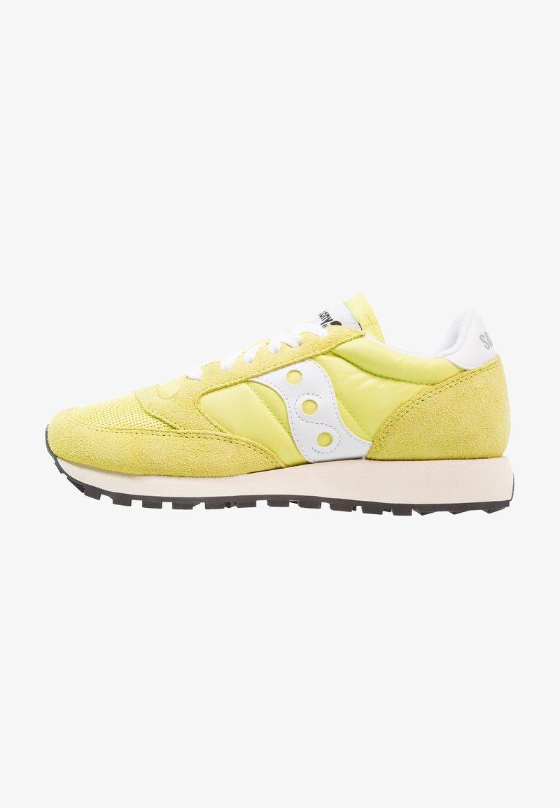 Saucony - JAZZ ORIGINAL VINTAGE - Sneakers basse - yellow/white