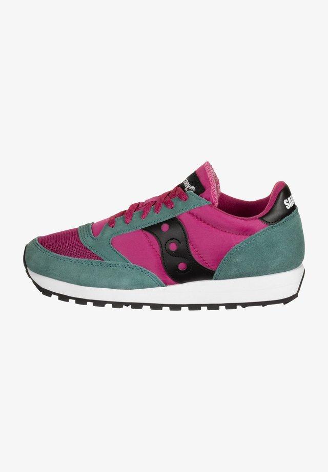 JAZZ VINTAGE - Sneakers laag - berry/teal/black