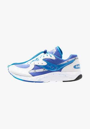 AYA - Sneakersy niskie - white/blue/light blue