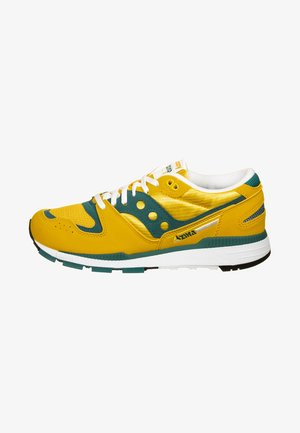 Trainers - yellow/teal