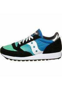 Saucony - SCHUHE JAZZ - Sneaker low - black/blue/green - 0