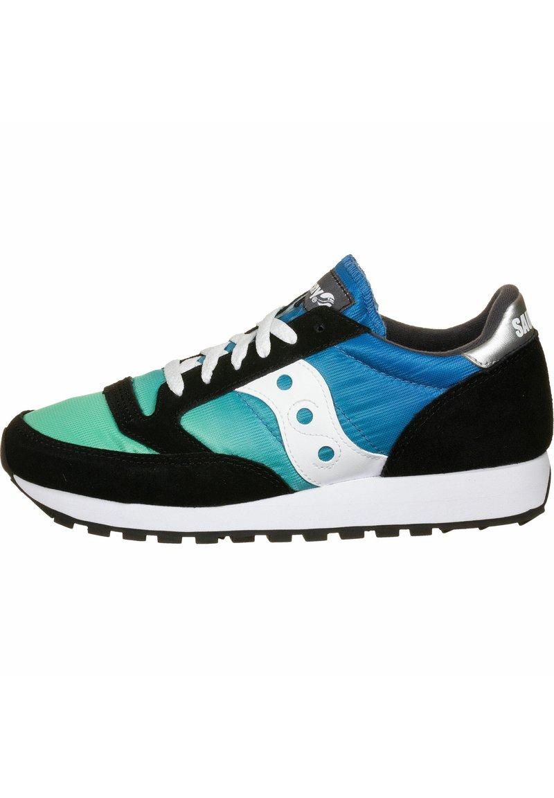 Saucony - SCHUHE JAZZ - Sneaker low - black/blue/green