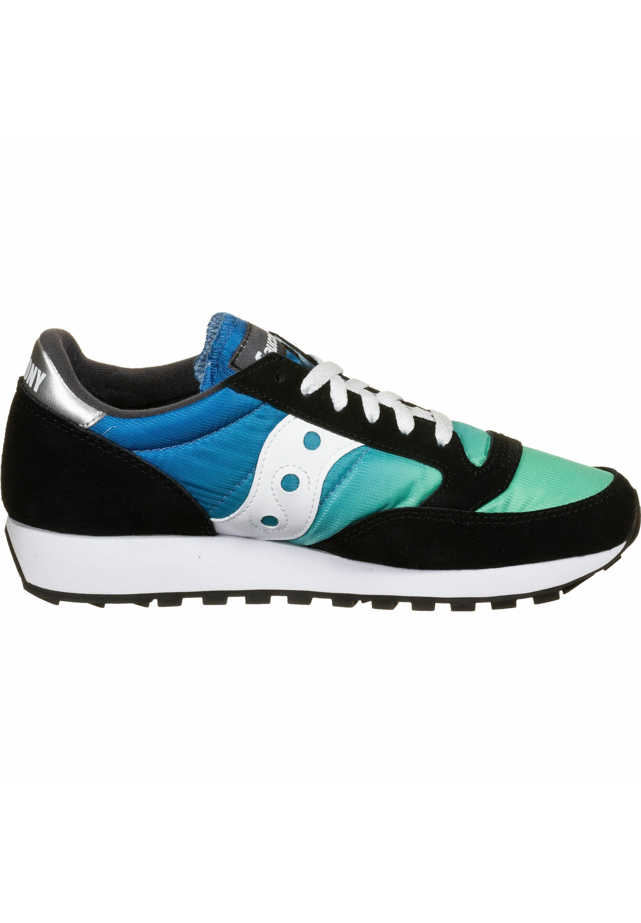 Saucony Schuhe Jazz - Sneakers Laag Black/blue/green Goedkope Schoenen