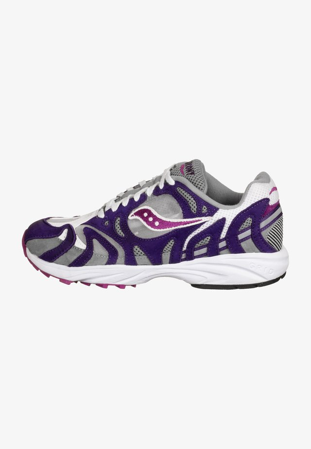 Sneaker low - white/purple/gray