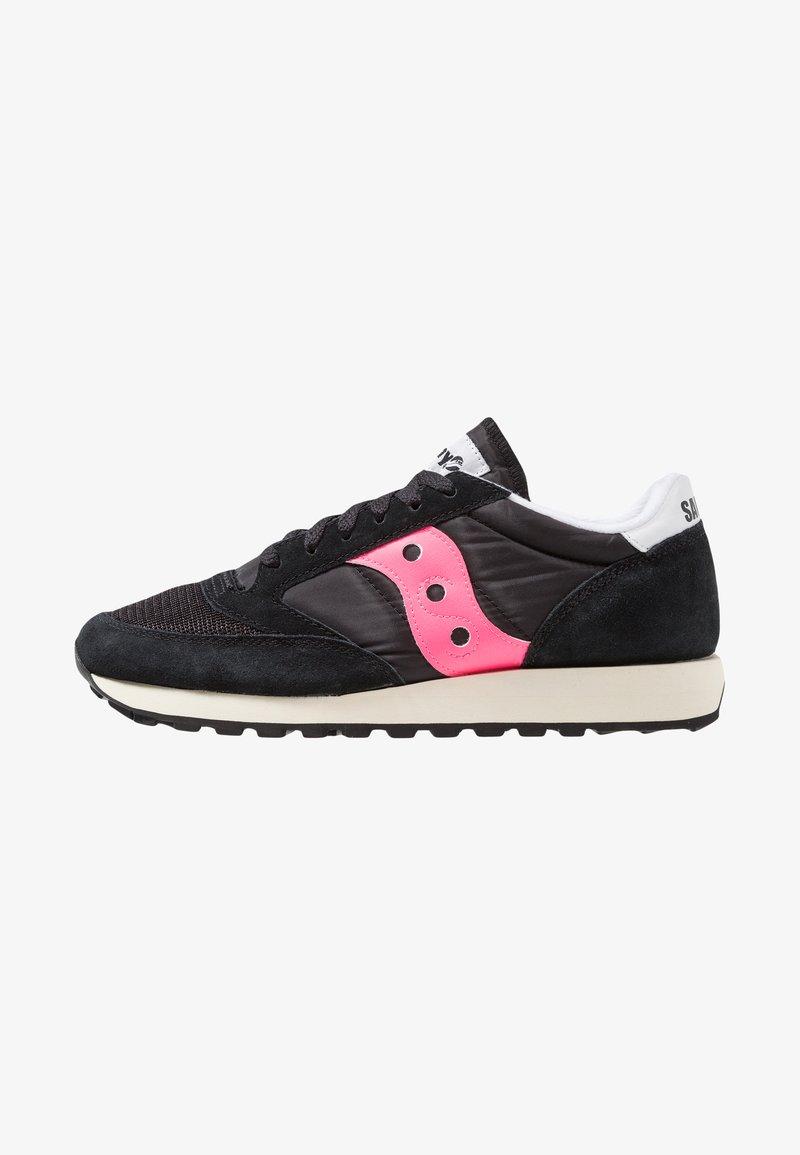 Saucony - JAZZ ORIGINAL VINTAGE - Trainers - black/pink