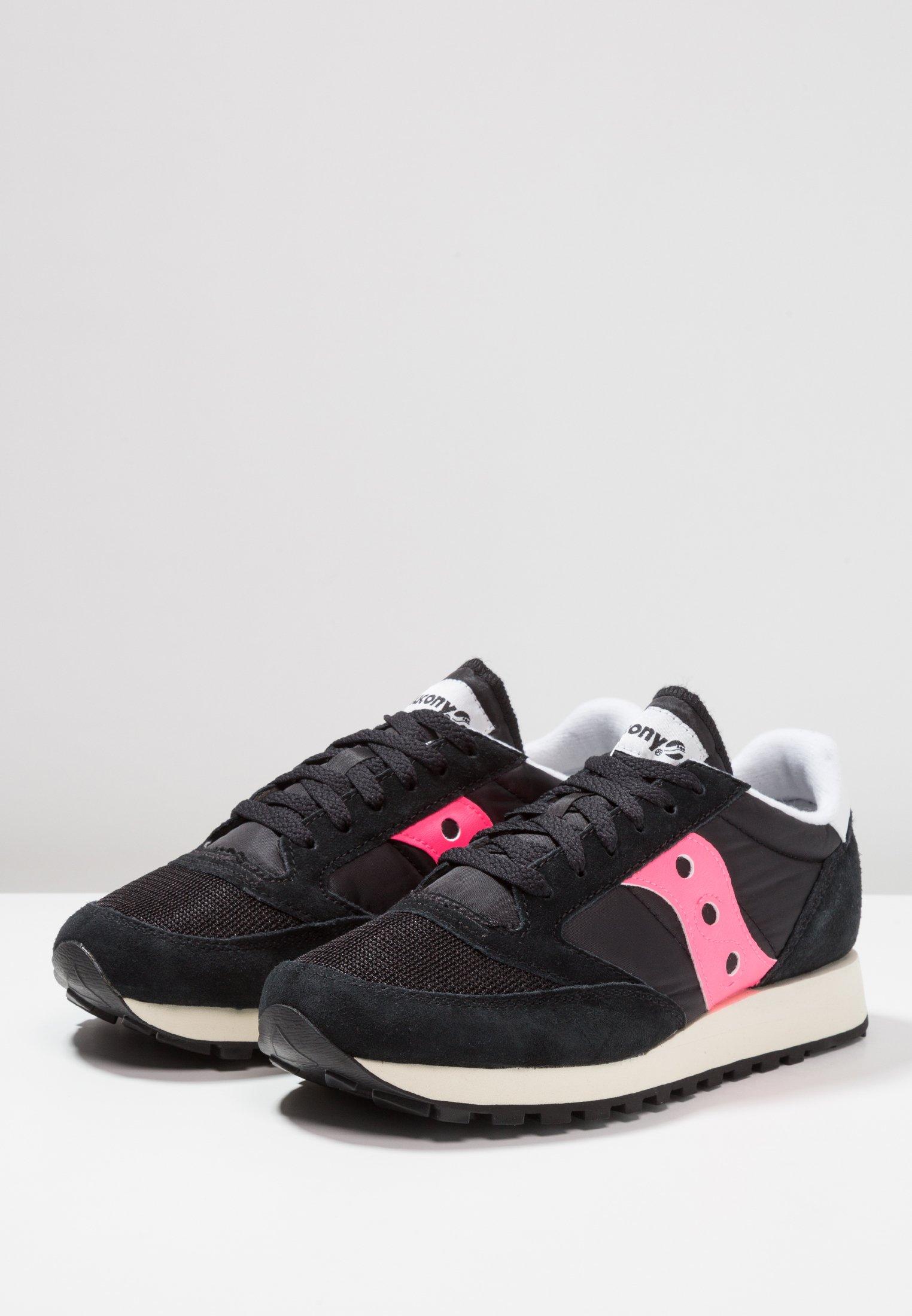 black ORIGINAL JAZZ basses Saucony pink VINTAGEBaskets 4jAL53R
