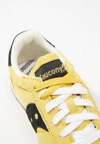 Saucony - JAZZ ORIGINAL VINTAGE - Tenisky - yellow/black - 5
