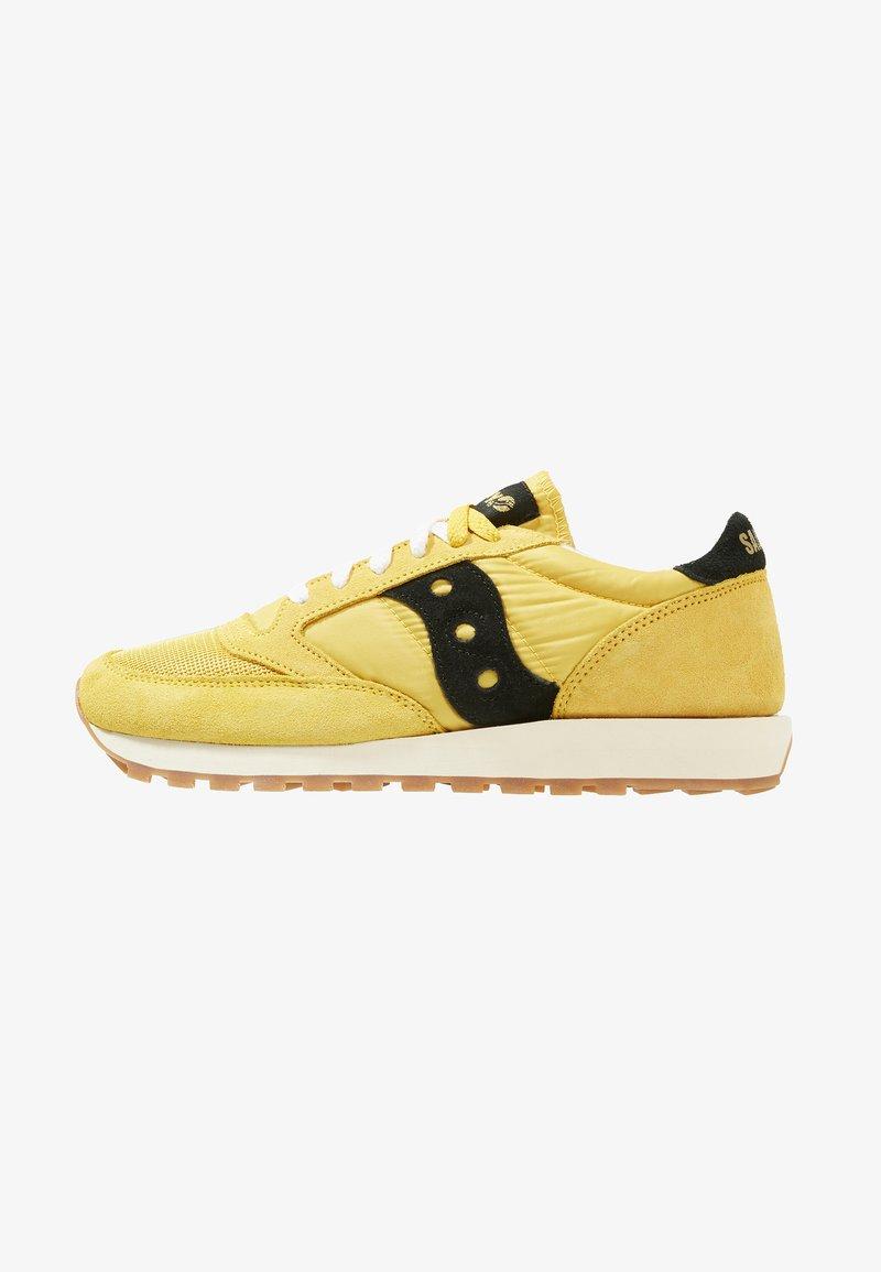 Saucony - JAZZ ORIGINAL VINTAGE - Sneakers - yellow/black