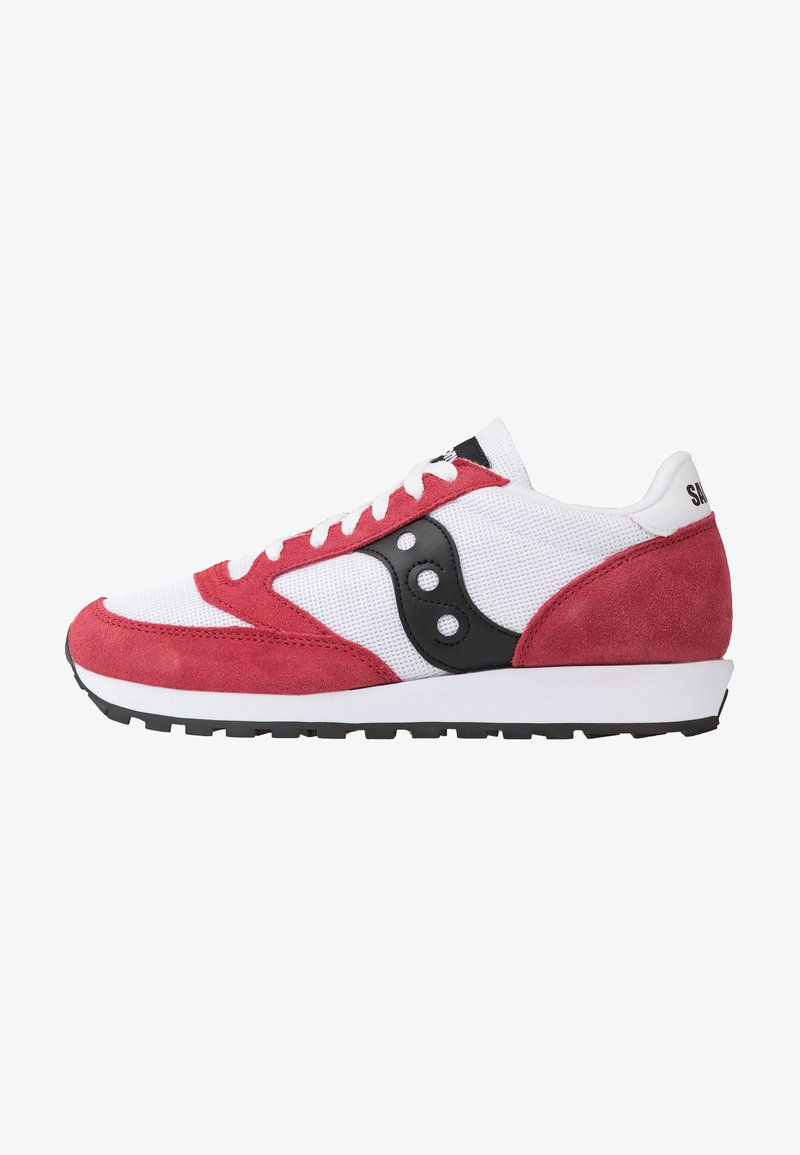 Saucony - JAZZ ORIGINAL VINTAGE - Sneaker low - white/red/black