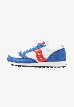 JAZZ ORIGINAL VINTAGE - Sneakers laag - white/blue/red