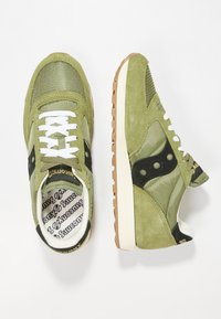 Saucony - JAZZ ORIGINAL VINTAGE - Trainers - olive/black