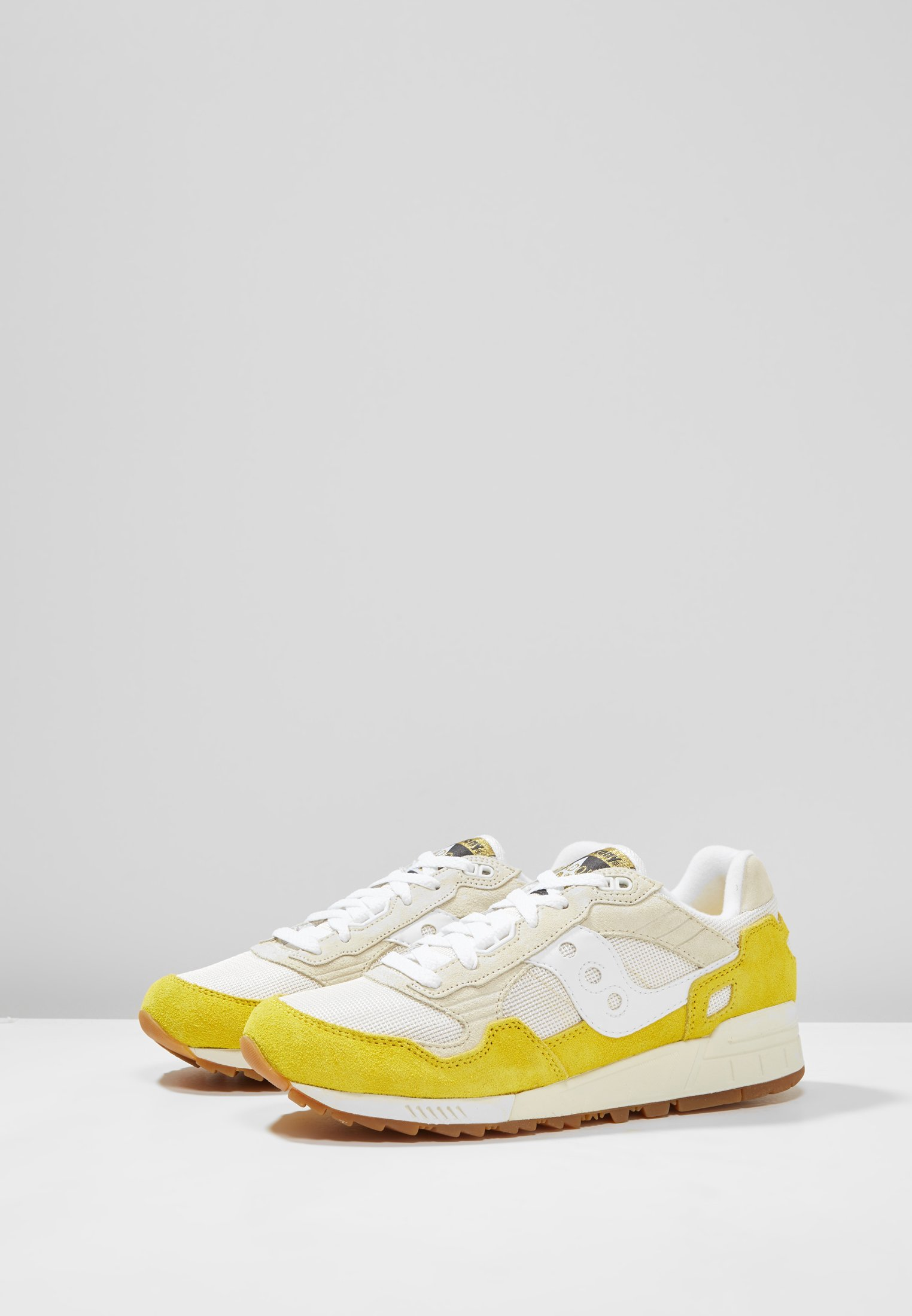 Saucony SHADOW 5000 VINTAGE - Baskets basses yellow/tan/white