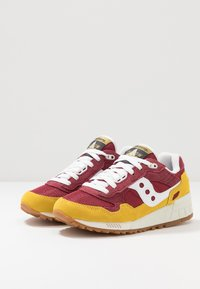 Saucony - SHADOW 5000 VINTAGE - Sneaker low - yellow/maroon/white - 2