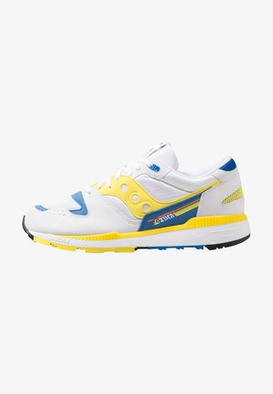 AZURA - Baskets basses - white/yellow/blue