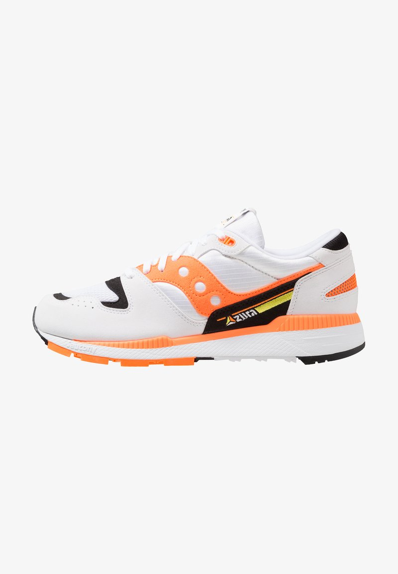 Saucony - AZURA - Trainers - white/orange/black