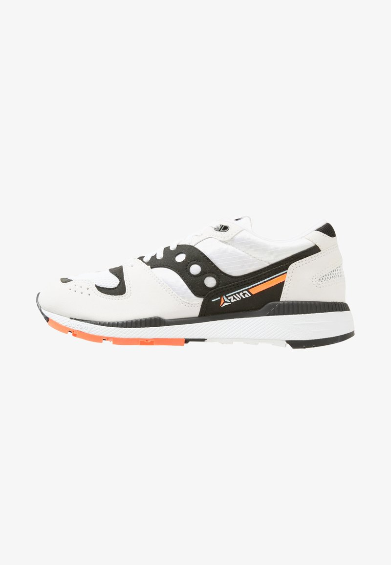 Saucony - AZURA - Sneakers - white/black/red