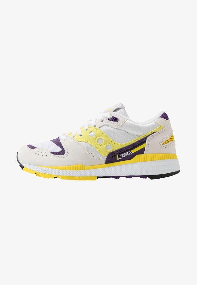 AZURA - Trainers - white/blazing yellow/indigo