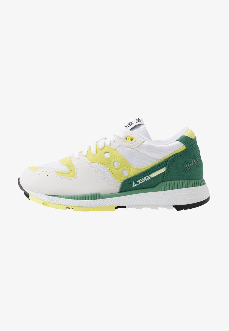 Saucony - AZURA - Sneakers basse - white/green/lime