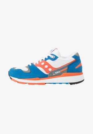 AZURA - Tenisky - grey/orange/blue