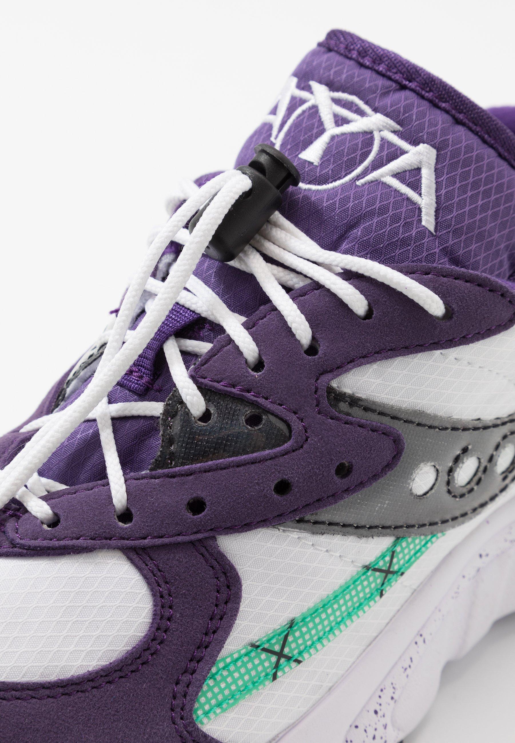 Saucony AYA - Sneakers - violet indigo/white
