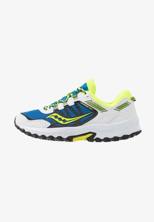 EXCURSION TR13 - Sneakersy niskie - blue/citron/black