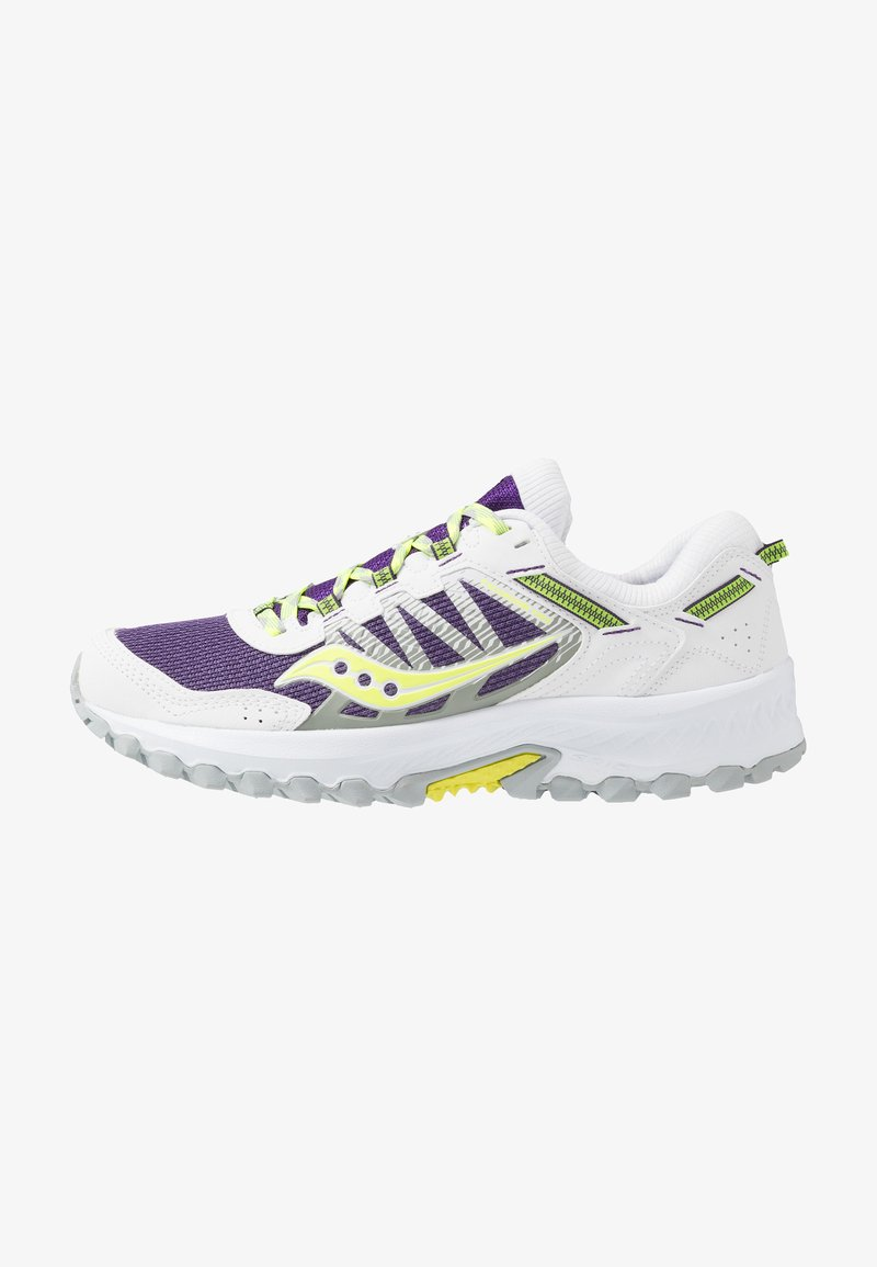 Saucony - EXCURSION TR13 - Sneakersy niskie - purple/citron