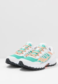 Saucony - EXCURSION TR13 - Matalavartiset tennarit - white/orange/aqua - 2