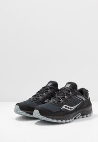 Saucony - EXCURSION - Sneaker low - grey/neon green - 2
