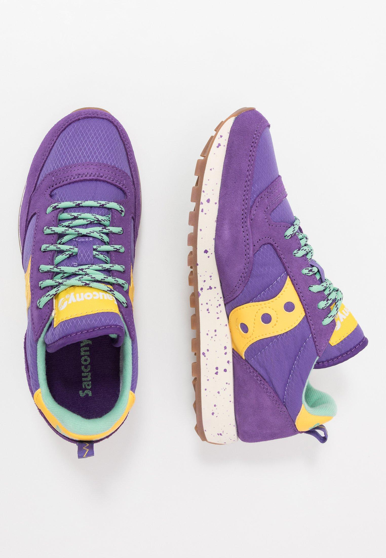 JAZZ ORIGINAL OUTDOOR Sneakers purpleyellow