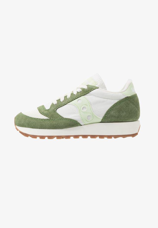 JAZZ VINTAGE - Sneakersy niskie - green/white/seafoam