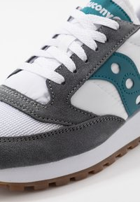 Saucony - JAZZ VINTAGE - Trainers - grey/white/teal - 6