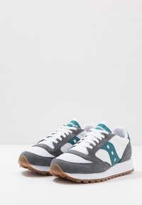 Saucony - JAZZ VINTAGE - Trainers - grey/white/teal - 2