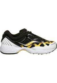 Saucony - SCHUHE GRID WEB - Baskets basses - white/black/yellow - 6