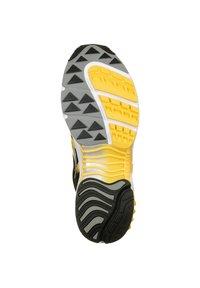 Saucony - SCHUHE GRID WEB - Sneaker low - white/black/yellow - 4