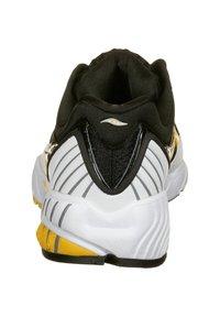 Saucony - SCHUHE GRID WEB - Sneaker low - white/black/yellow - 3